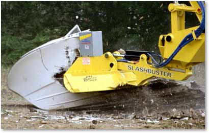 Image of Slashbuster® HD 480B brush cutter mulching boat hull